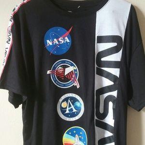 NASA brand t shirt men's size 2XL Black nwot